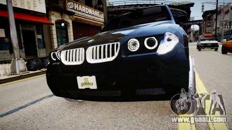BMW X3 2.5Ti 2009 for GTA 4 right view