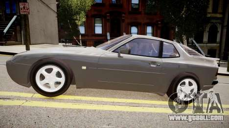 Porsche 944 Turbo for GTA 4 left view