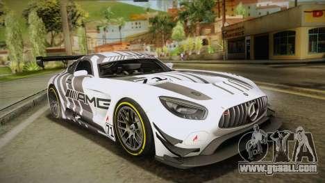 Mercedes-Benz AMG GT3 2016 for GTA San Andreas wheels
