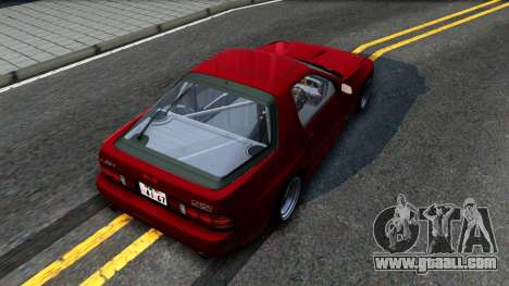 Mazda RX-7 for GTA San Andreas back view