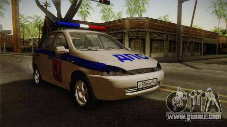 VAZ 1119 DPS for GTA San Andreas right view