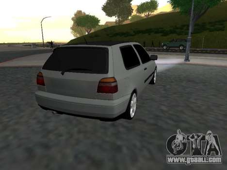 Volkswagen Golf 3 Armenian for GTA San Andreas right view