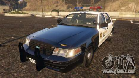 Ford Crown Victoria P71- LA Co. Sheriff 1999 for GTA 5