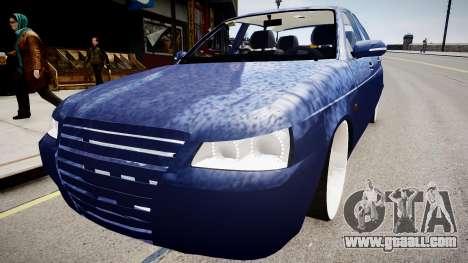Lada Priora hatchback beta for GTA 4
