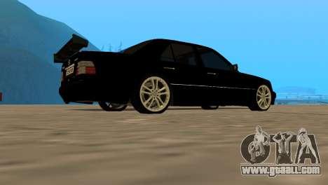 Mersedes-Benz E500 W124 Armenia for GTA San Andreas left view