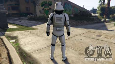 GTA 5 Stormtrooper 0.1 third screenshot