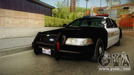 Ford Crown Victoria SHERIFF for GTA San Andreas