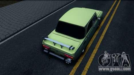 AZLK 2140 GT for GTA San Andreas back view