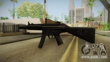 MP5 SD2 for GTA San Andreas