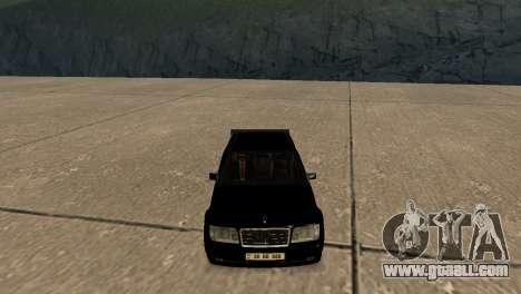 Mersedes-Benz E500 W124 Armenia for GTA San Andreas inner view