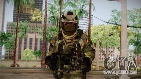 Multitarn Camo Soldier v3 for GTA San Andreas