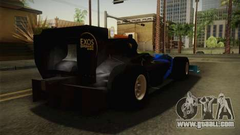 F1 Lotus T125 2011 v2 for GTA San Andreas back left view