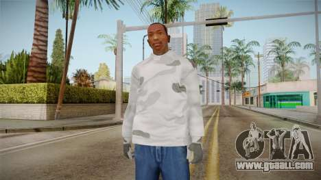 Winter hoodies for GTA San Andreas