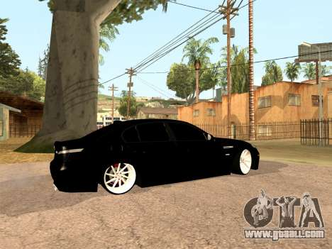 BMW M5 E60 Facelift for GTA San Andreas left view