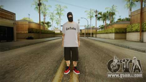 The masked bandit for GTA San Andreas