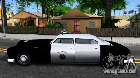 Hermes Classic Police Los-Santos for GTA San Andreas left view