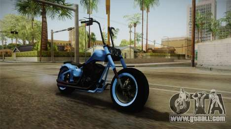 GTA 5 Western Zombie for GTA San Andreas