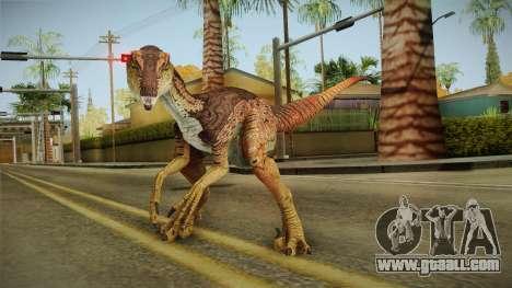 Primal Carnage Velociraptor Alpha for GTA San Andreas
