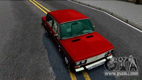VAZ 2106 Resto for GTA San Andreas right view