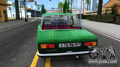 VAZ-21011 for GTA San Andreas back left view