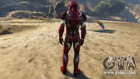 GTA 5 Iron Man Mark 46 third screenshot