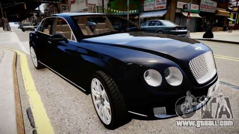 Bentley Continental Flying Spur 2010 for GTA 4 right view