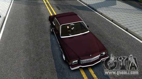Chevrolet Monte Carlo 1976 for GTA San Andreas right view