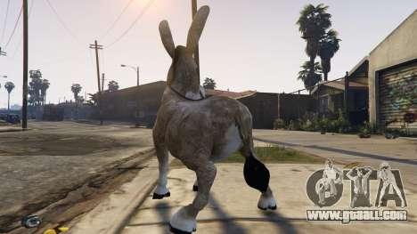 GTA 5 Donkey form Shrek third screenshot