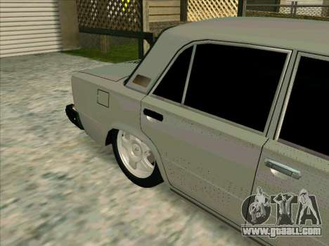VAZ 21013 for GTA San Andreas inner view