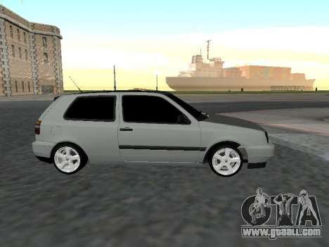 Volkswagen Golf 3 Armenian for GTA San Andreas left view