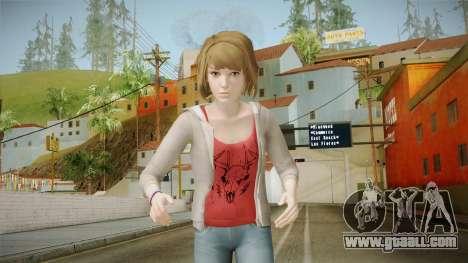 Life Is Strange - Max Caulfield Red Shirt v2 for GTA San Andreas