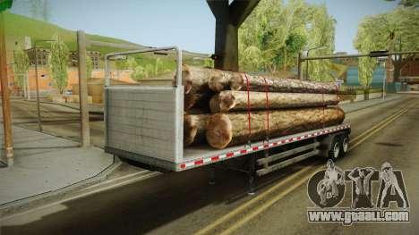 GTA 5 Log Trailer v3 for GTA San Andreas