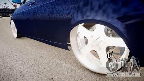 Lada Priora hatchback beta for GTA 4 back view