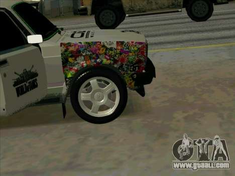 IZH-21175 for GTA San Andreas back view