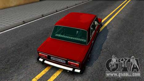 VAZ 2106 Resto for GTA San Andreas back view