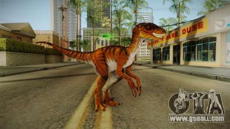 Primal Carnage Velociraptor Savage for GTA San Andreas second screenshot