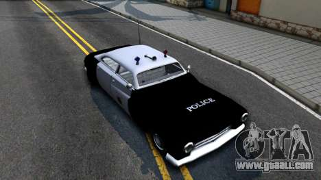 Hermes Classic Police Los-Santos for GTA San Andreas right view