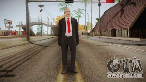Hitman Agent 47 for GTA San Andreas second screenshot