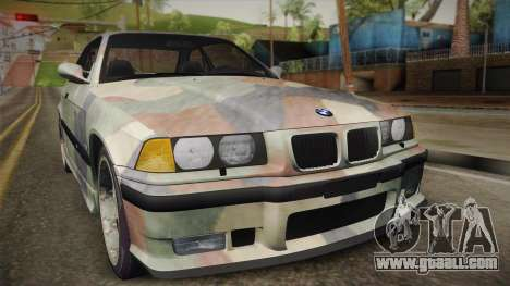 BMW M3 E36 TANK for GTA San Andreas right view