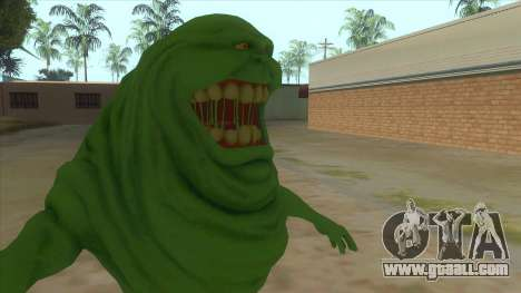 Slimer From Ghostbusters for GTA San Andreas back view