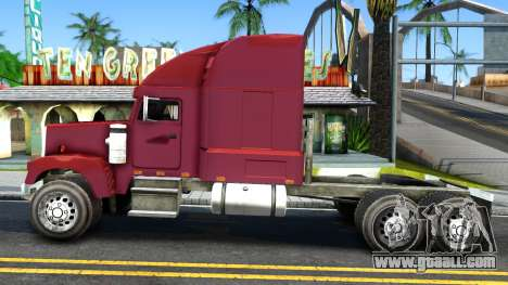 Truck From NFS Undercover for GTA San Andreas left view