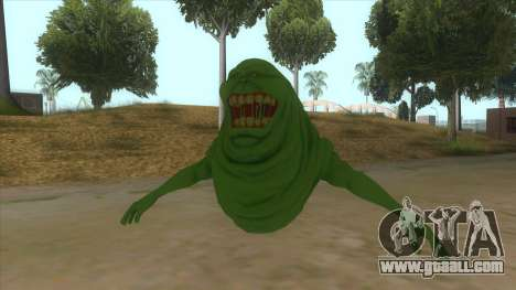 Slimer From Ghostbusters for GTA San Andreas