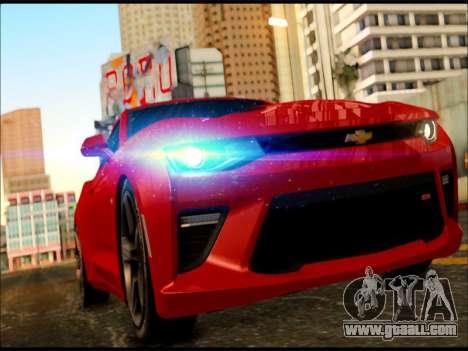 2017 Chevrolet Camaro SS GTA SA for GTA San Andreas