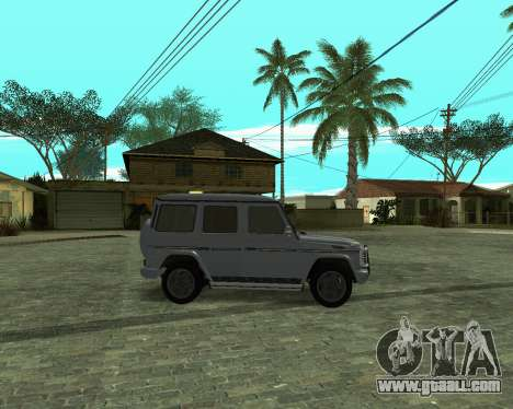 Mercedes Benz G500 Armenian for GTA San Andreas back left view