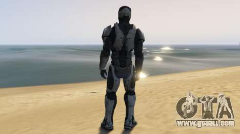GTA 5 Robocop 2014 third screenshot