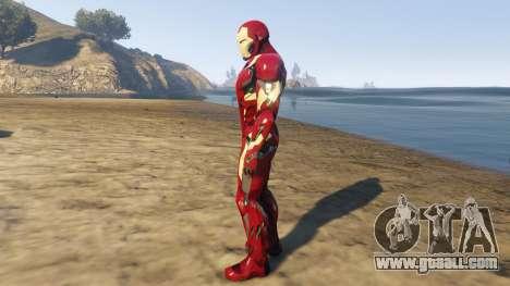 GTA 5 Iron Man Mark 46