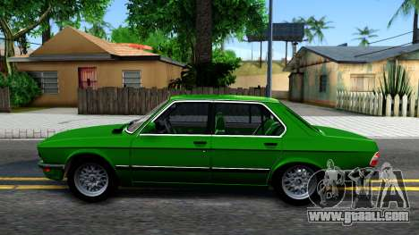 BMW 535i E28 for GTA San Andreas left view