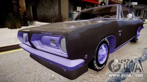 Plymouth Barracuda Formula S for GTA 4