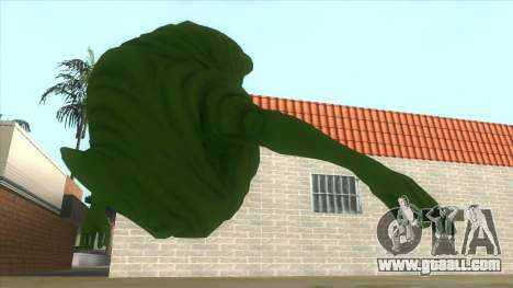 Slimer From Ghostbusters for GTA San Andreas right view