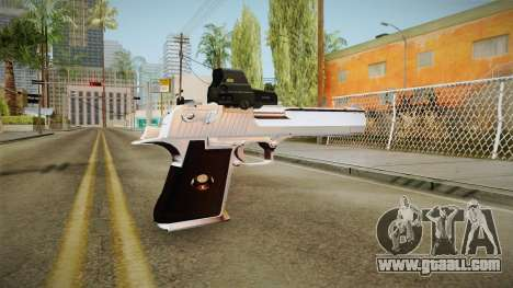 Desert Eagle with a new livery for GTA San Andreas second screenshot